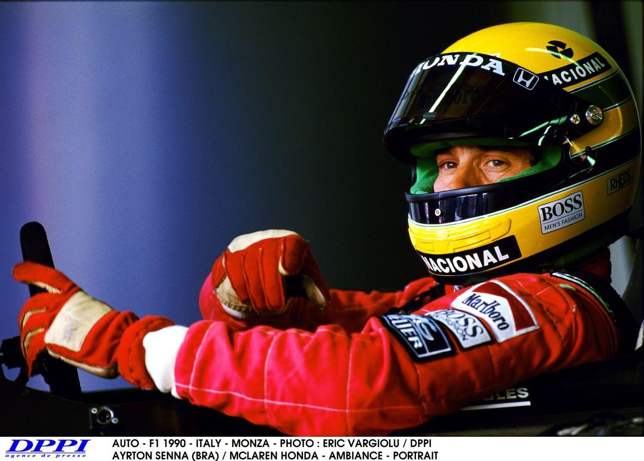 """A McLaren is Senna előtt tiszteleg: """"Pole-ban voltam, de csak mentem, és mentem..."""""""