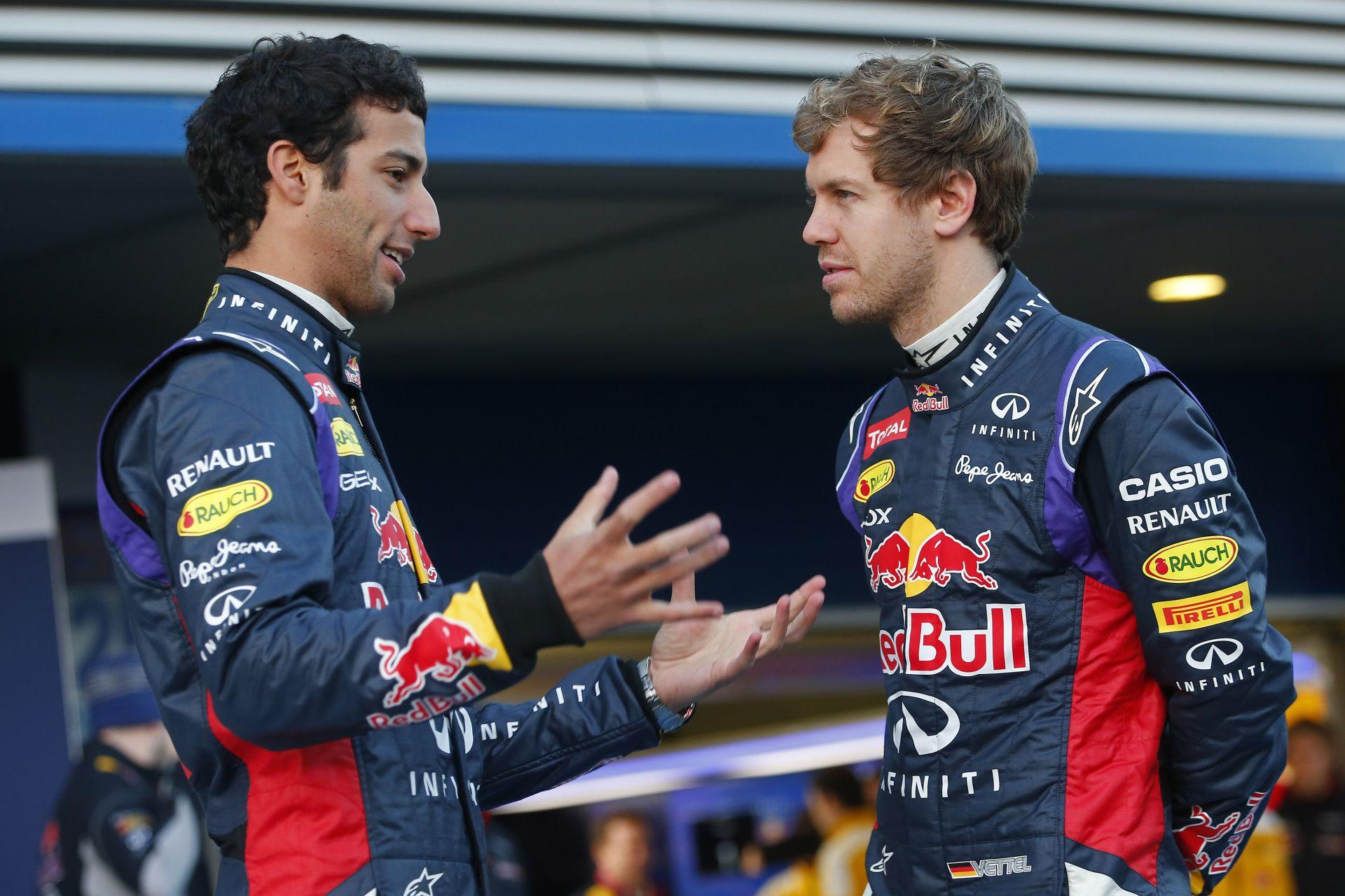Vettel nem lehet túl büszke, különben már az első évében kikaphat Ricciardótól