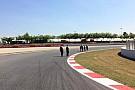 Spanyol Nagydíj 2014: Pályabejárás a Williams csapattal