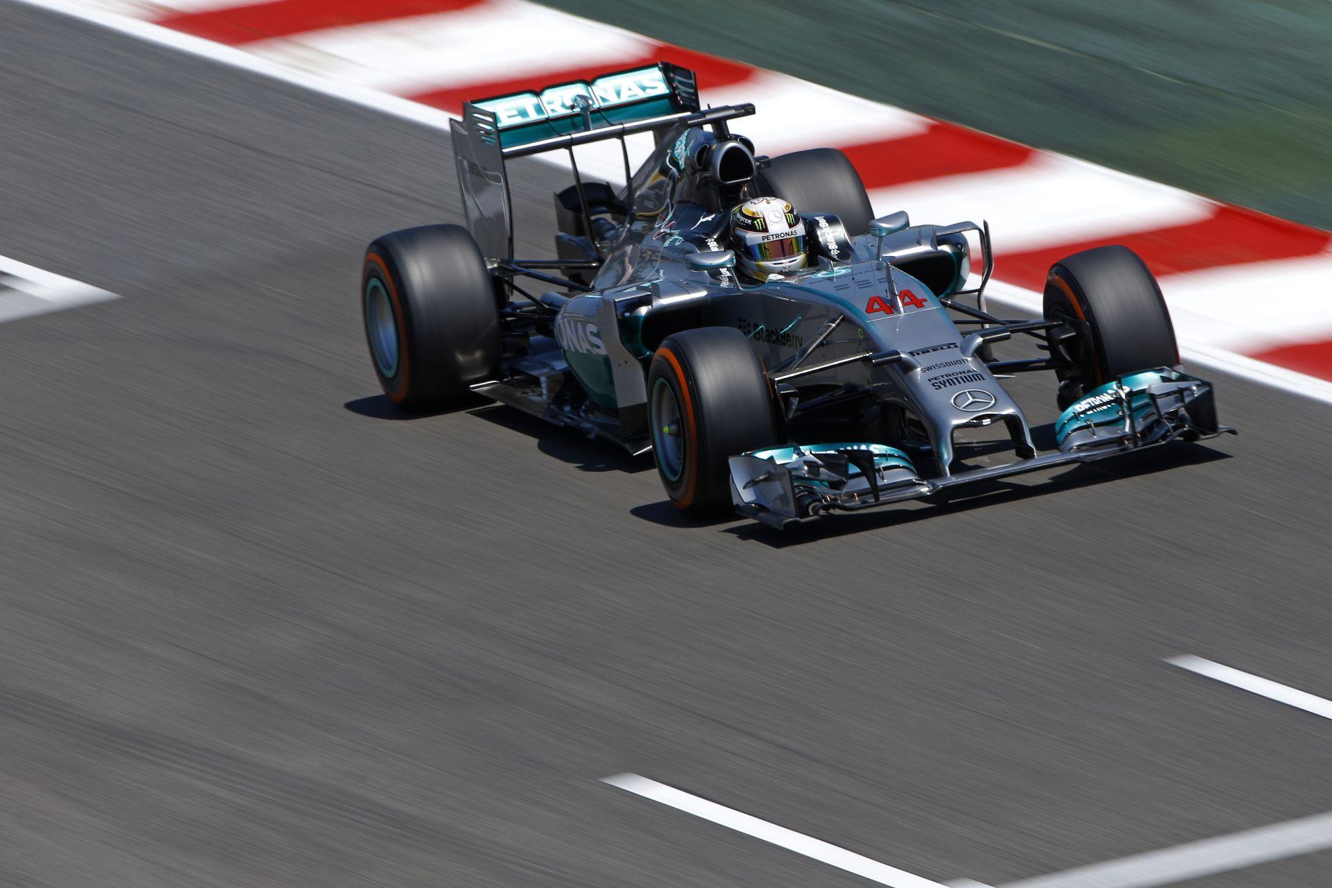 A Mercedes pontosan tudja, hogy egy nagyon gyors autója van