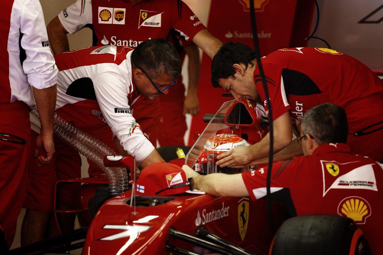 A Ferrari csak a negyedik csapat: Raikkönen csalódott