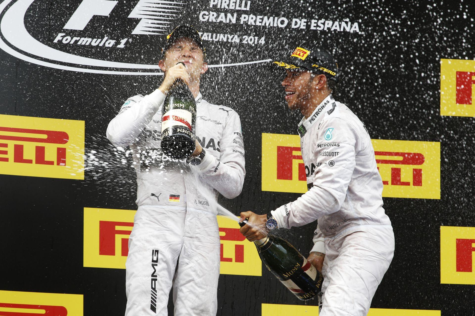 Prost: Rosbergnek agresszívebbnek kell lennie, hogy legyőzze Hamiltont