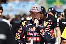 Max Verstappen a tizenkettedik helyen érkezett meg a Forma-1-be