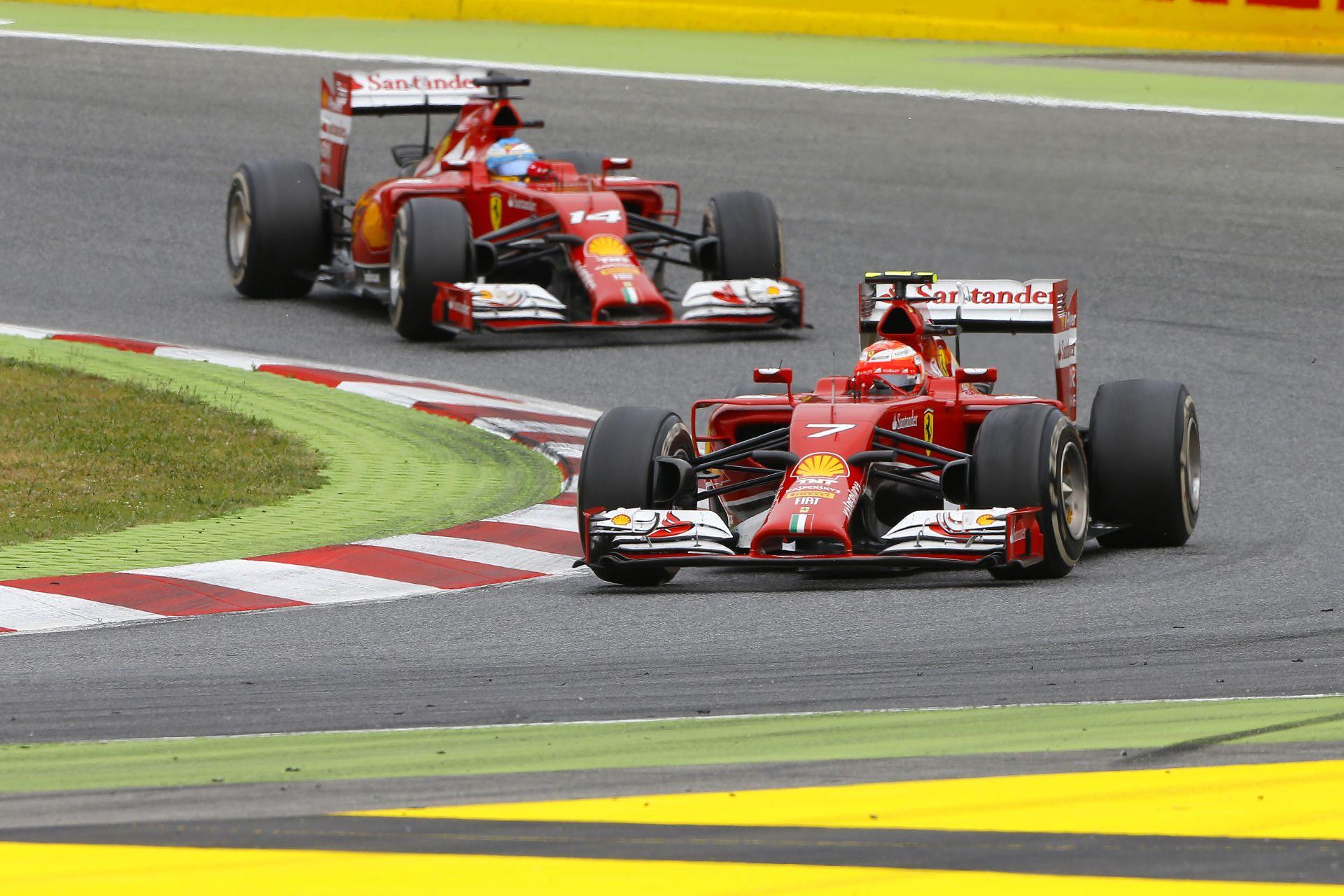 Alonso: Egy kicsivel gyorsabb vagyok, mint Kimi! Ferrari: Igen, tudjuk!