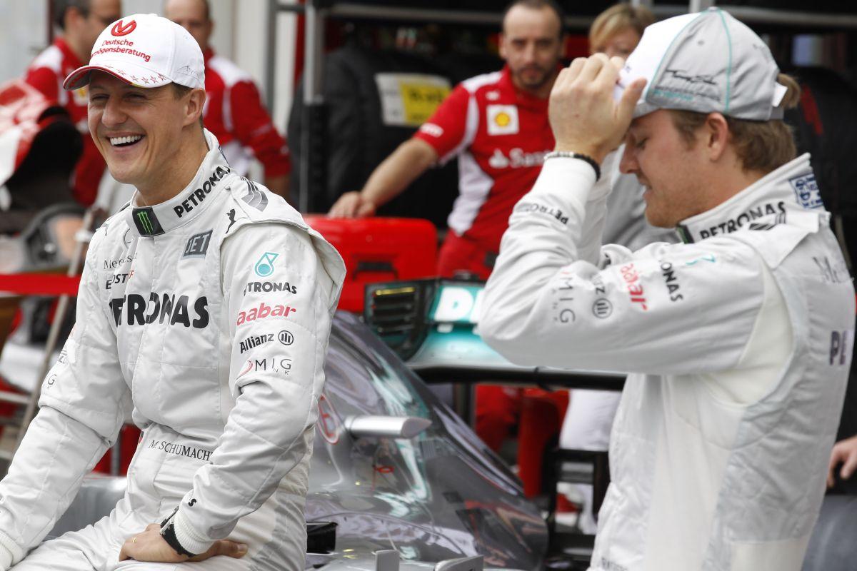 Schumacher nagy hatással volt Rosbergre  - nehéz út vezetett a sikeres időkhöz