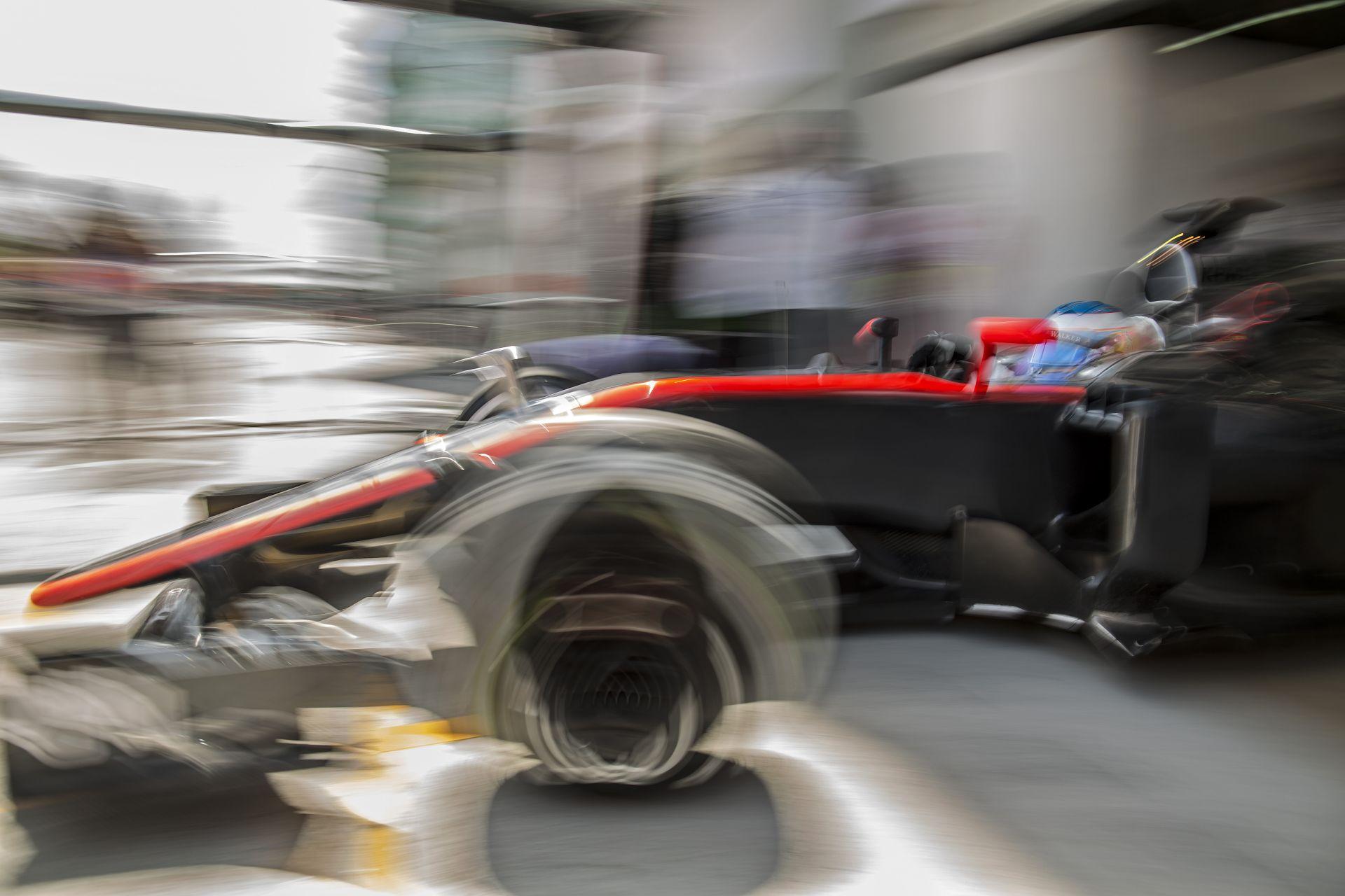 Alonso alatt nem igazán akart befordulni a McLaren-Honda