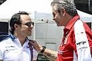 Massát nem lepte meg a Ferrari formája: reméli, csak a gumikezelésnek tudható be