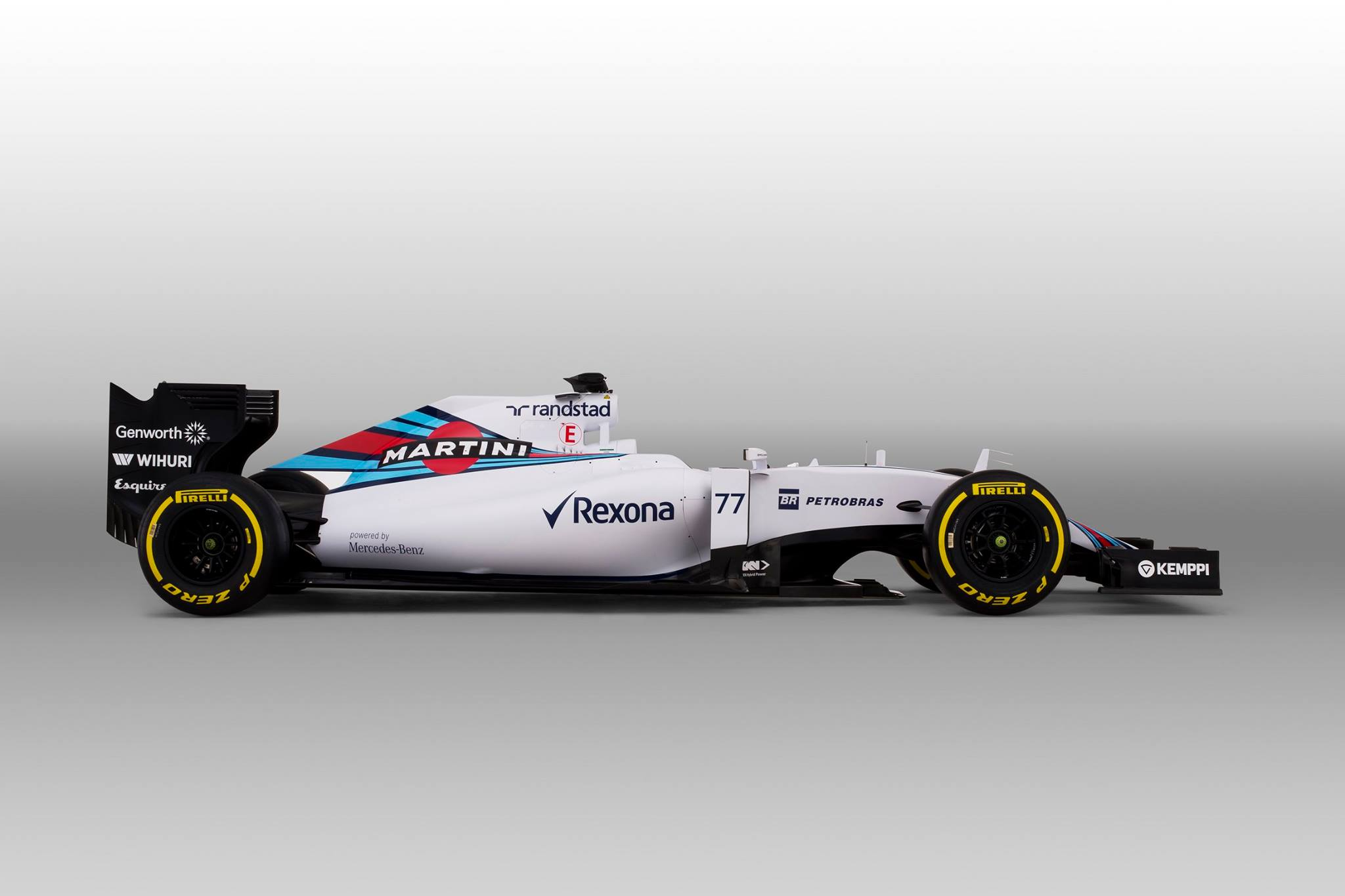 Videón a Williams F1 Team 2015-ös F1-es autója!
