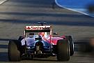 Rajtgyakorlat közben Vettel az új Ferrarival
