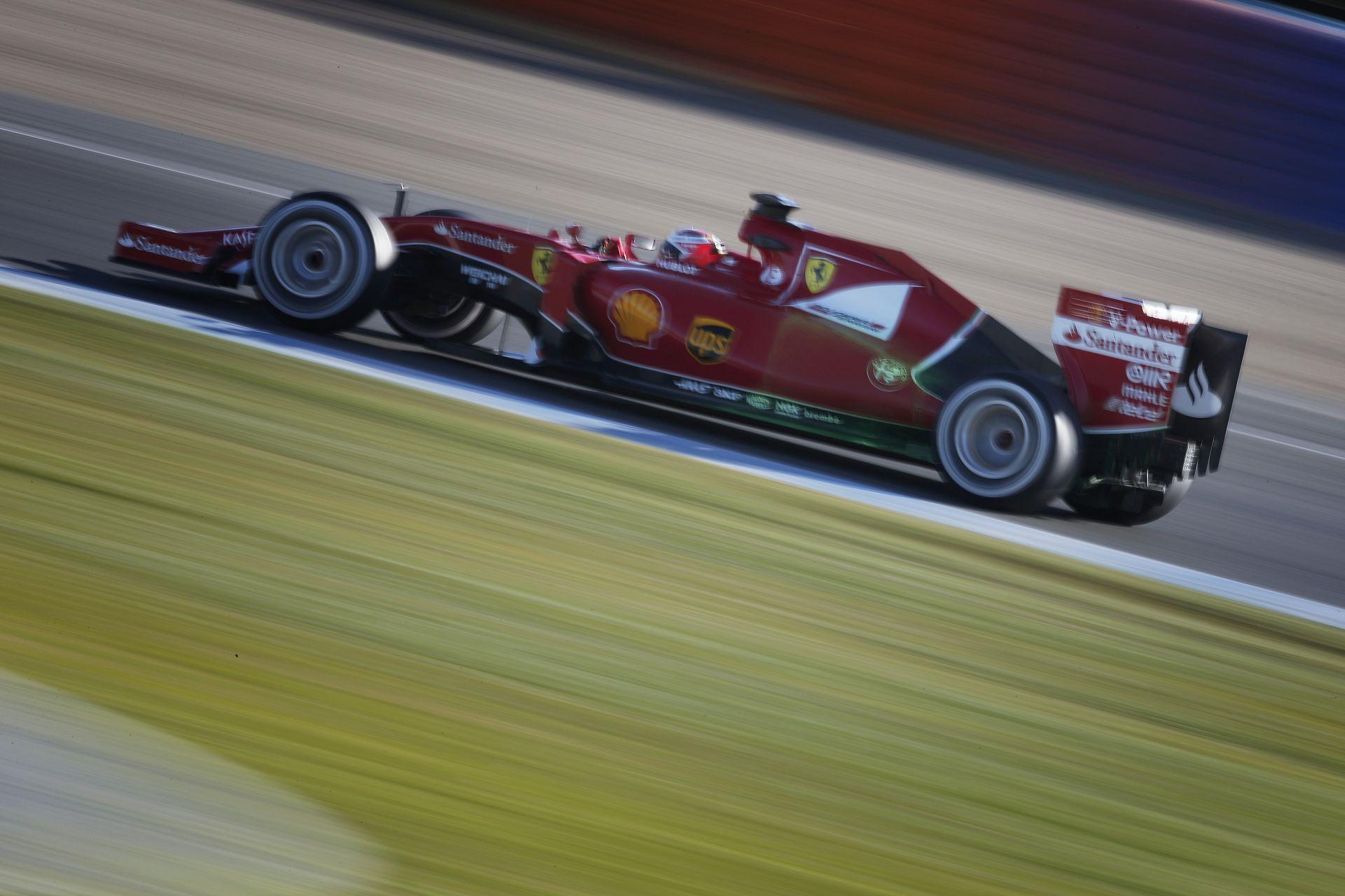 """Újabb """"Ferrari-parádé"""" Jerezben! Raikkönen végzett az élen az utolsó napon, a teszt legjobb idejével"""