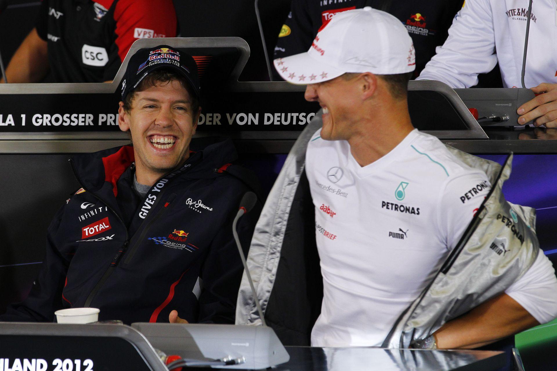 Vettel: Nem vagyok Schumacher!