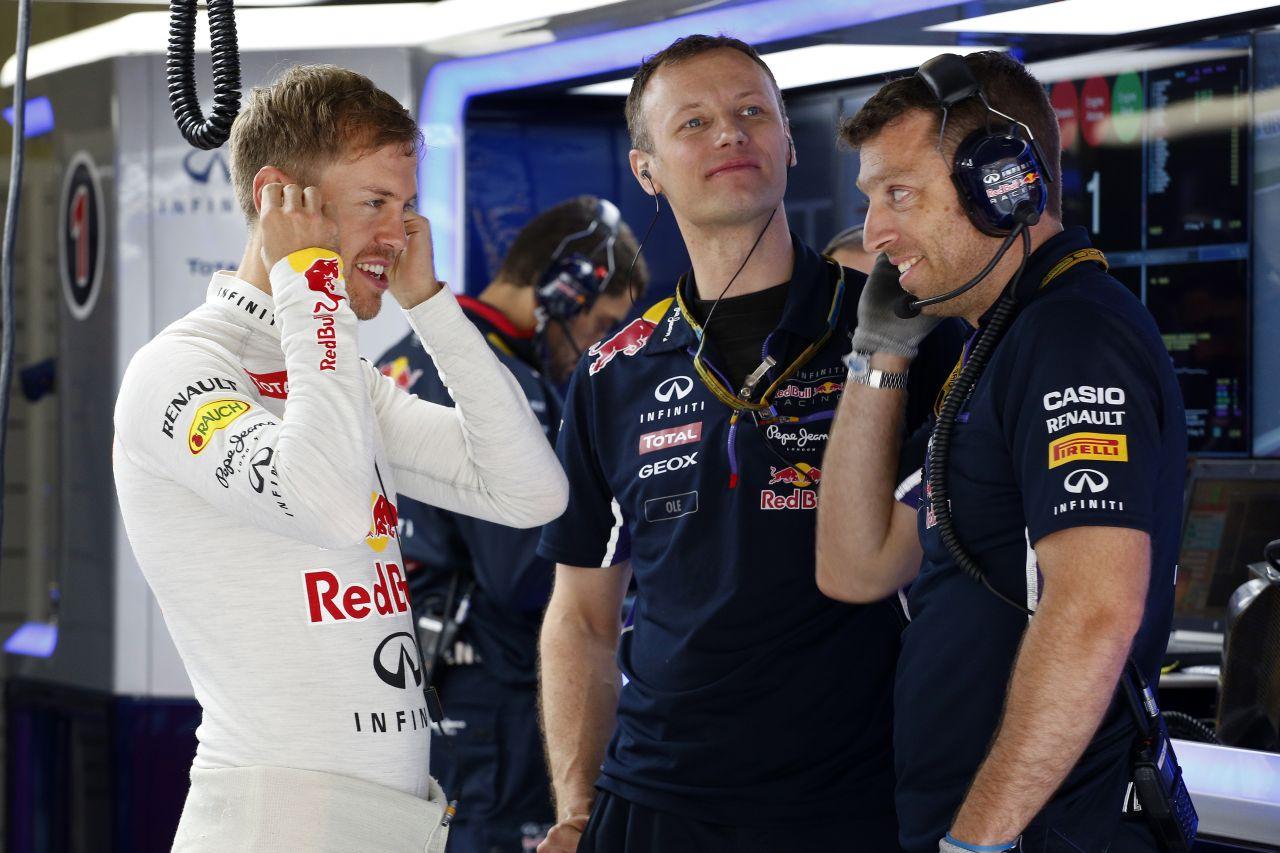 Ricciardo elég gyakran van Vettel előtt - ezzel biztosan nem számolt a német bajnok