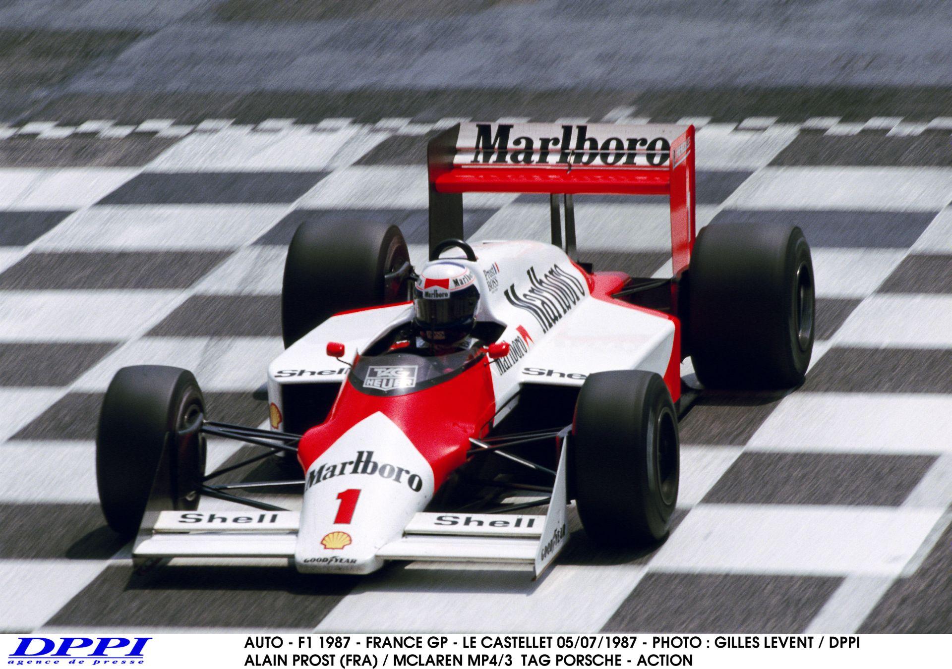 Képgaléria a ma 60 esztendős Alain Prostról