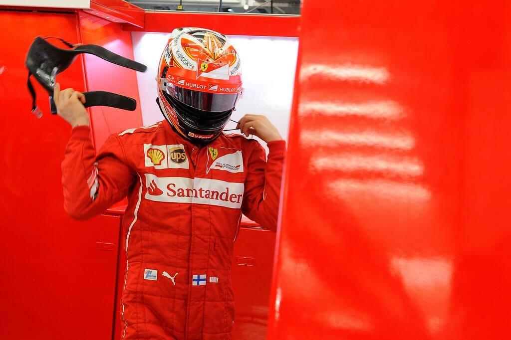 Raikkönen nem teljesen elégedett a Ferrari tesztjével Bahreinben
