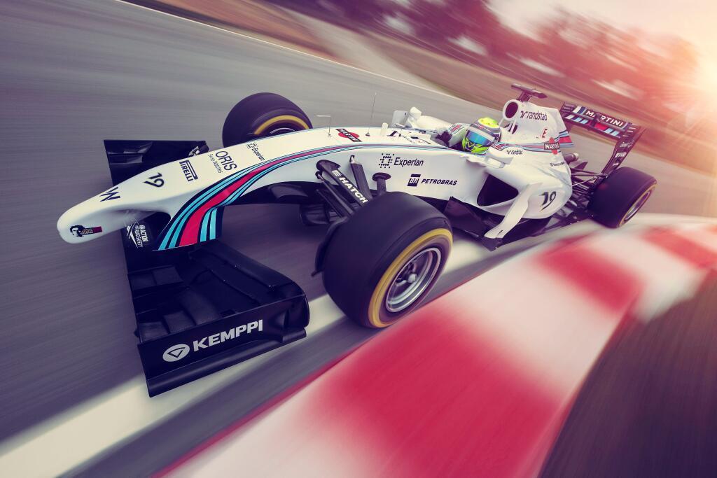 Hivatalos: a Williams oldalán tér vissza a Martini, ma a festést is bemutatták! (frissítve)
