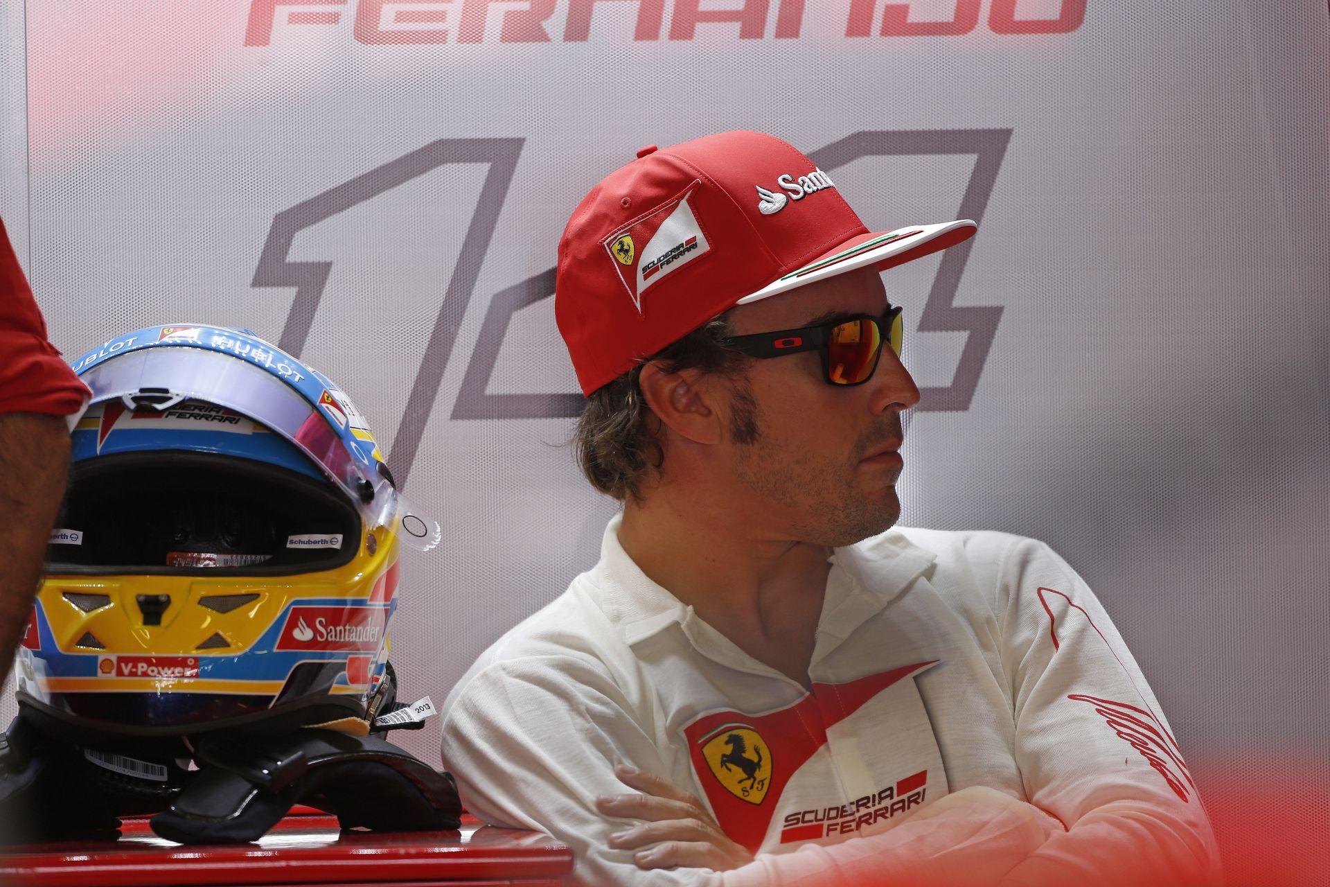 Alonso kívánsága vasárnapra: Csak érjek célba…
