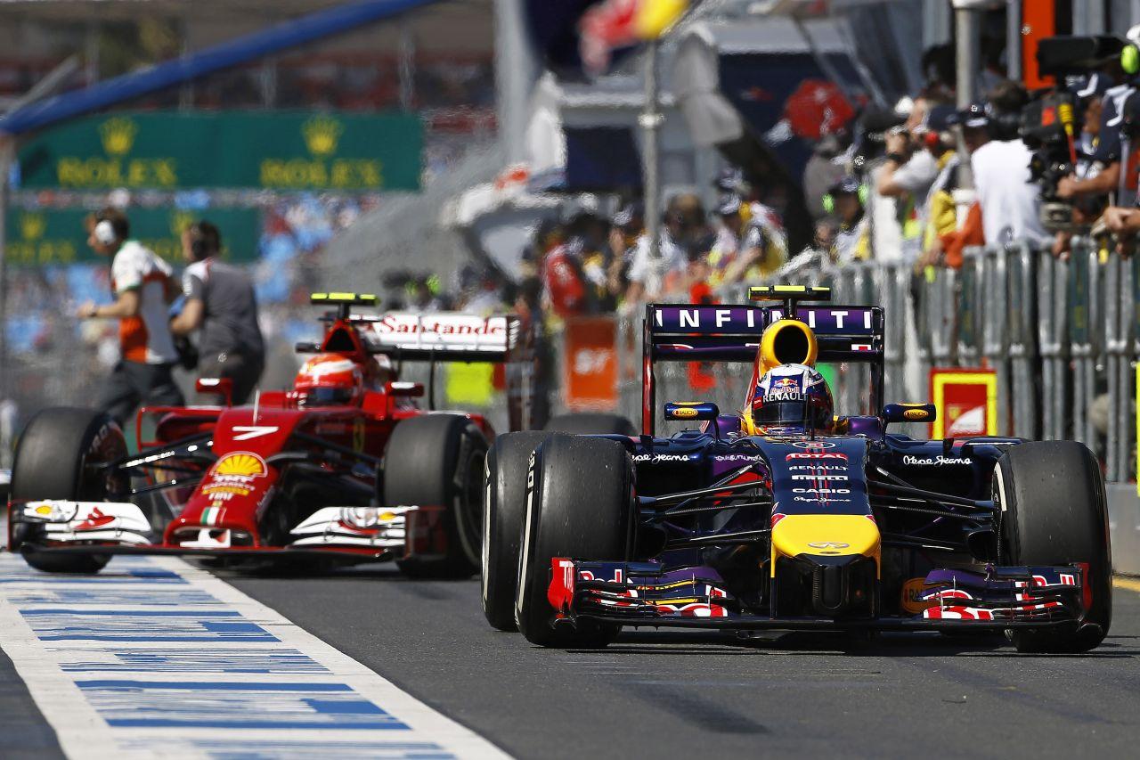 Futam előtti dráma a Red Bullnál: Ricciardo autójával is volt gond