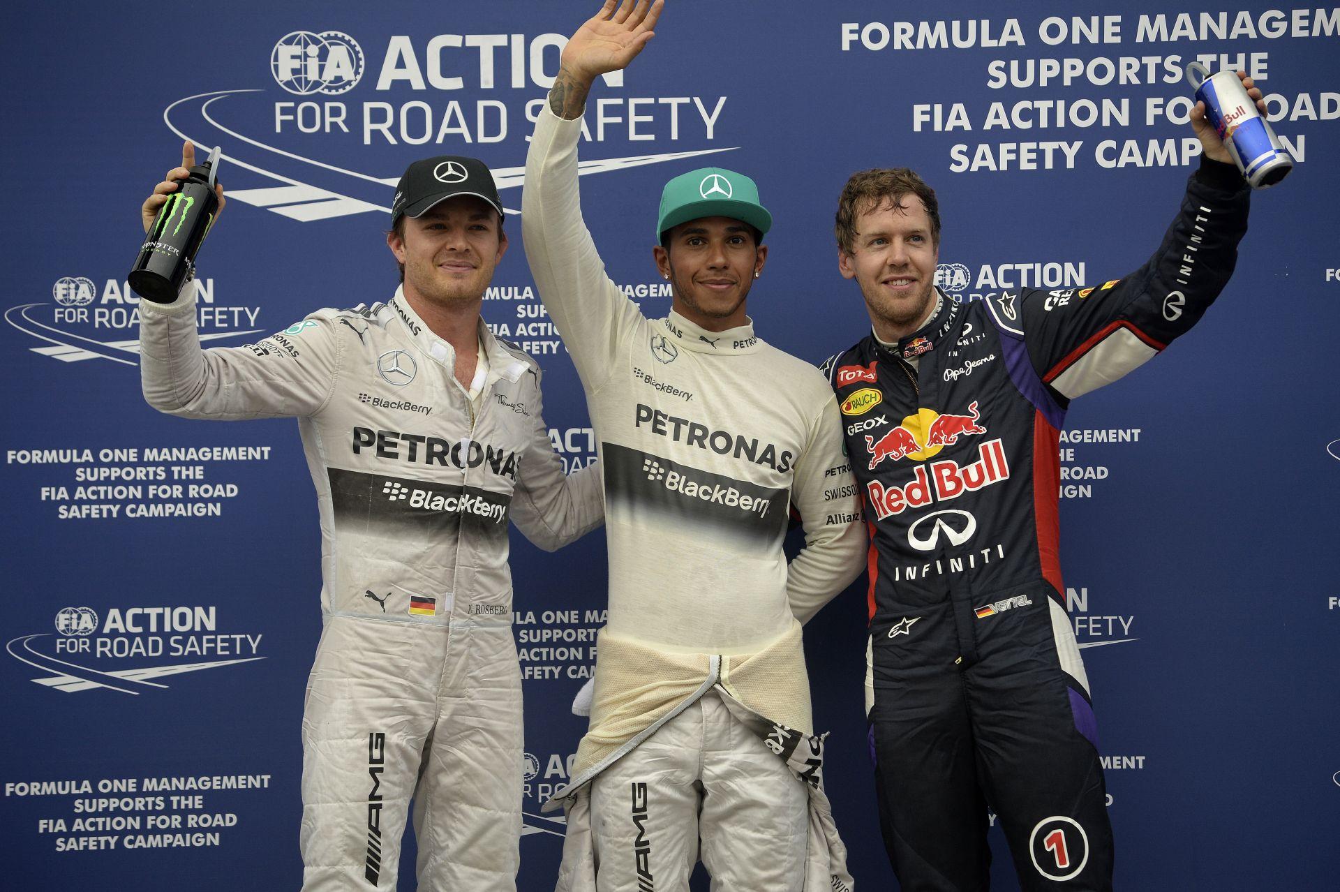 Hamilton nem látott semmit, Vettelnek felment a vérnyomása, Rosberg küszködött