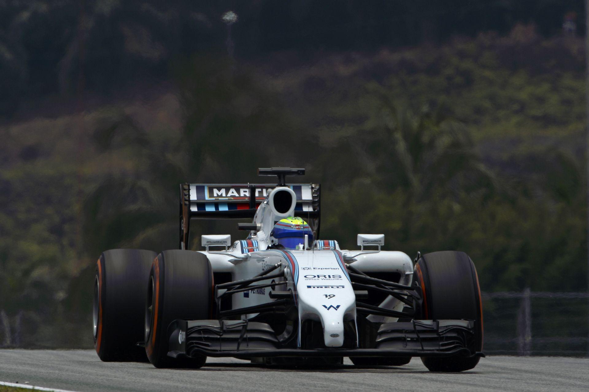 Massa csak a 13. helyről várhatja a Maláj Nagydíj rajtját
