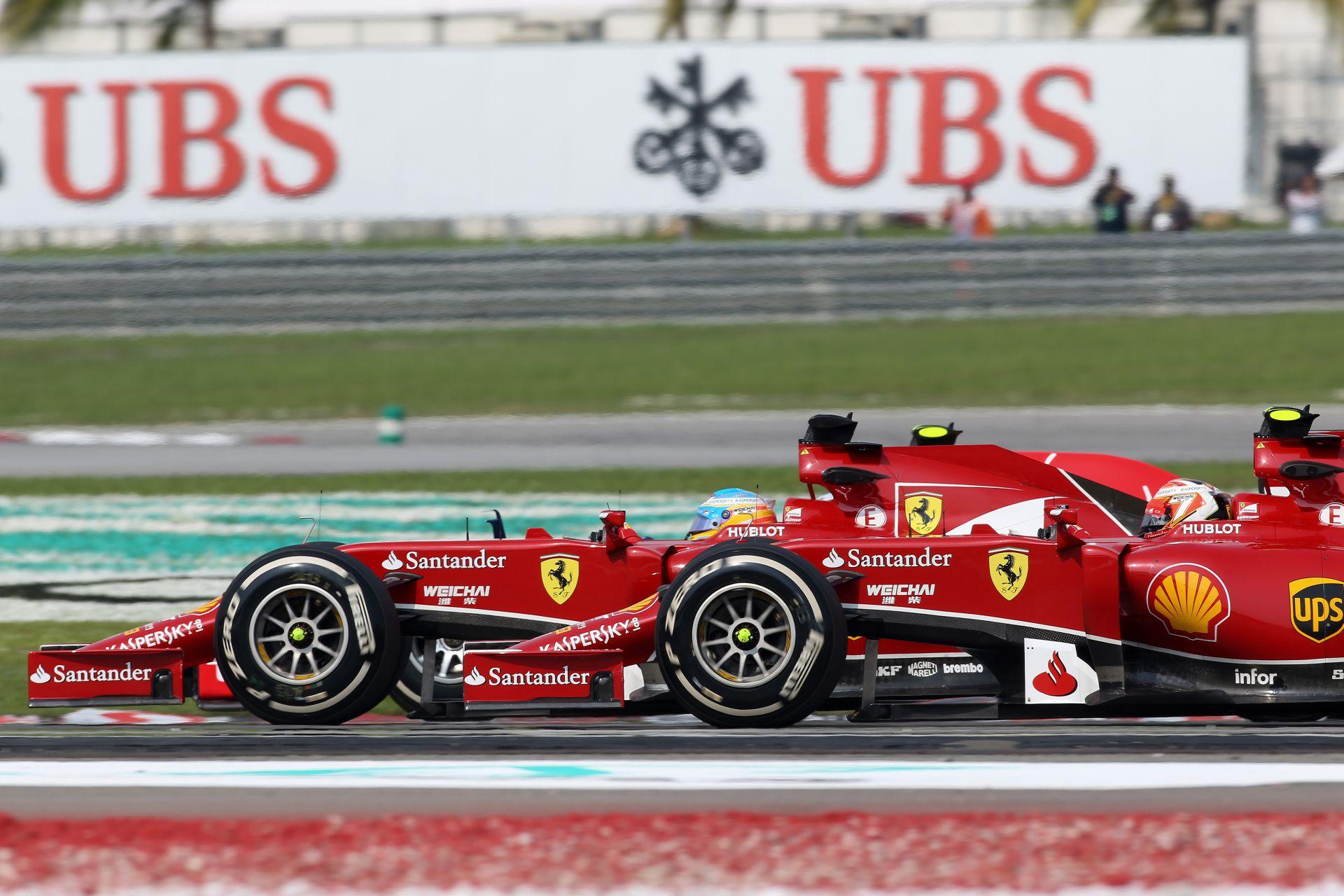 Alonso ismét Raikkönen előtt: A 4. helyen ért célba a spanyol világbajnok