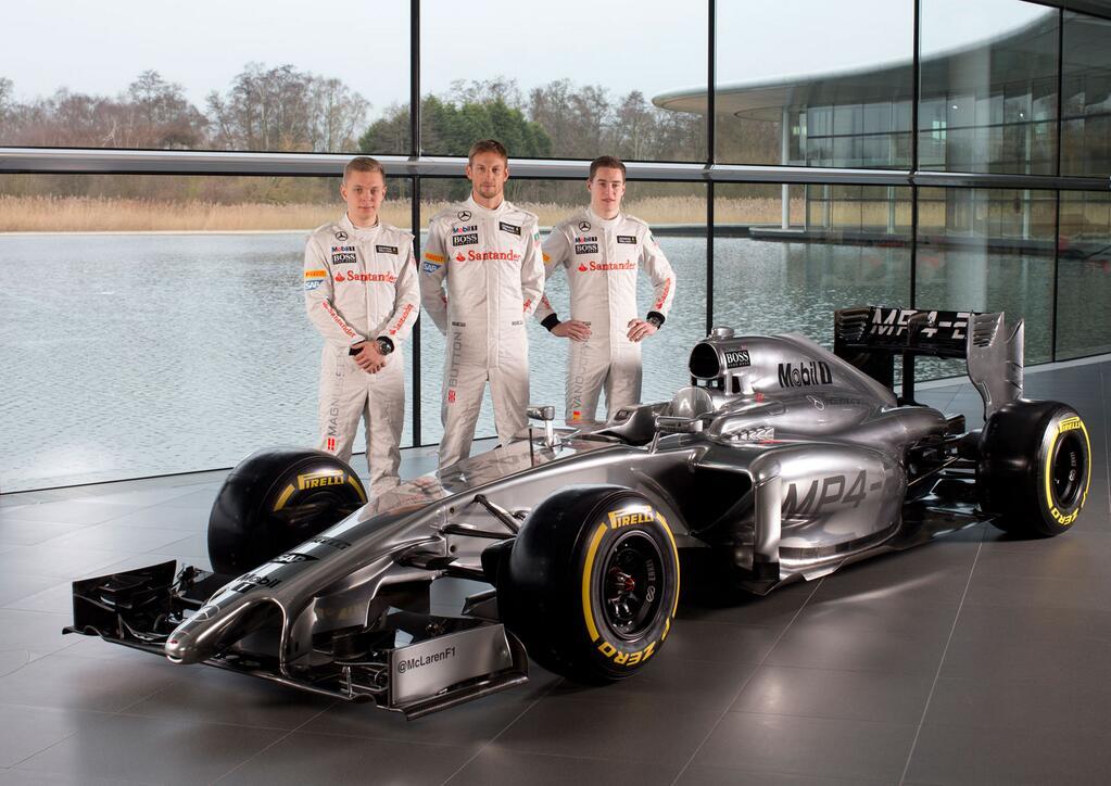 Videón a 2014-es McLaren, az MP4-29
