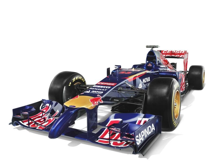 Megérkezett a 2014-es Toro Rosso, az STR9 (Frissítve)