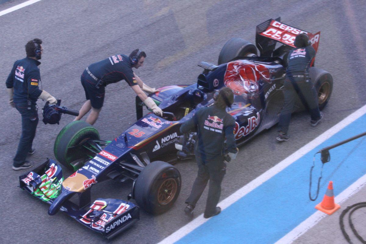 Toro Rosso: Egy újabb nehéz nap Jerezben
