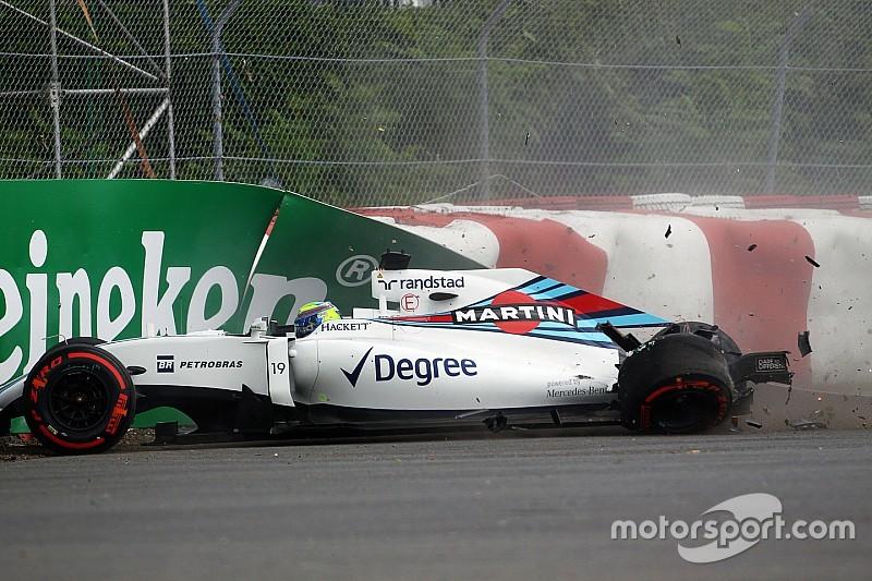 """Massa: """"Ik had niets met die crash te maken"""""""