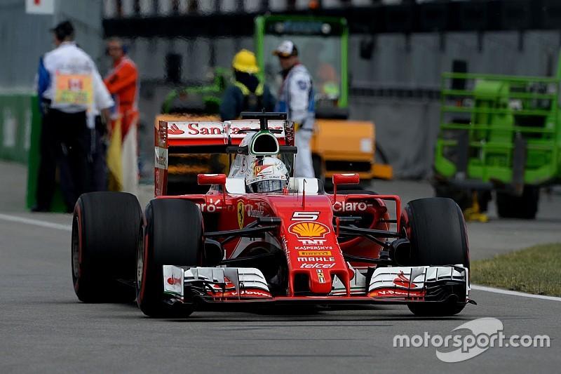 Formel-1-Samstagstraining in Montreal abgebrochen: Sebastian Vettel Schnellster