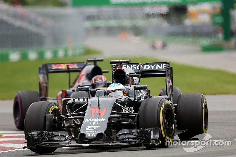 アロンソ「新しいタイヤを履いてレース終盤を楽しみたかった」