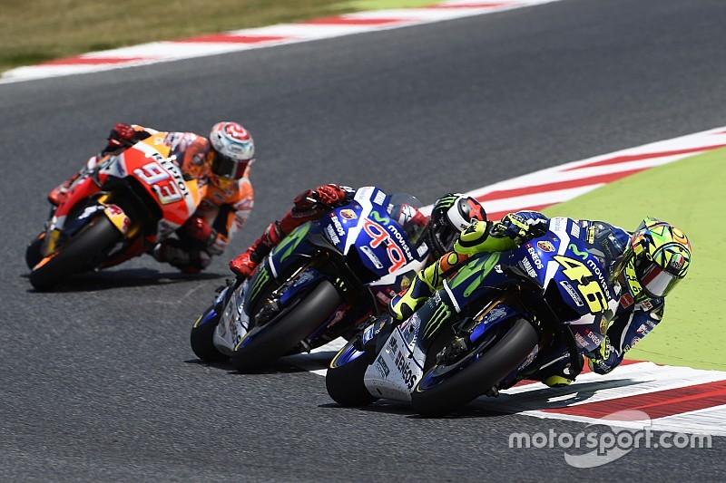 Márquez se lleva los puntos de Lorenzo y Rossi