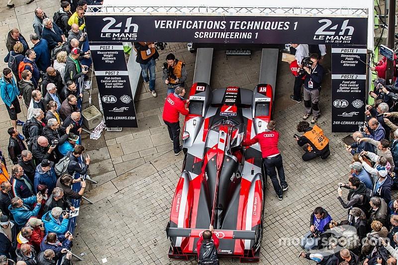 Video: Technische Abnahme in Le Mans 2016