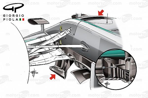 Teknik İnceleme: Mercedes'in benzersiz gelişimi