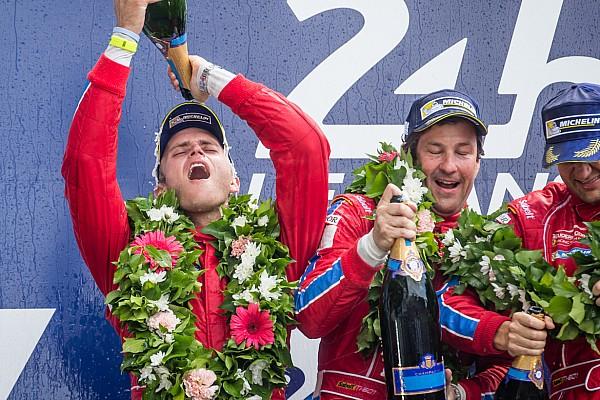 Para U.S. Ferrari, Le Mans,