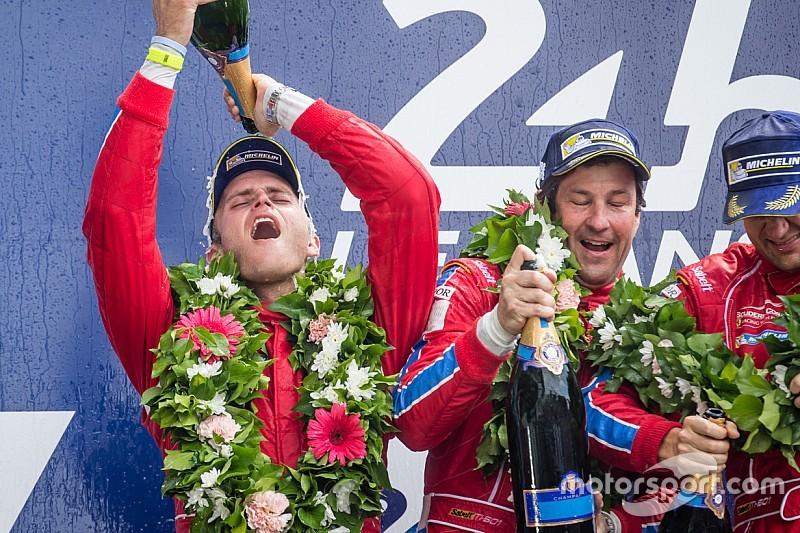 """Para U.S. Ferrari, Le Mans, """"un sueño hecho realidad"""""""