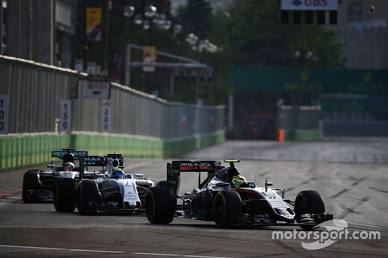 Force India wil Williams voorbij voor vierde plek bij constructeurs