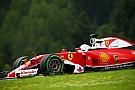 Spin Vettel veroorzaakt door probleem met remdistributie