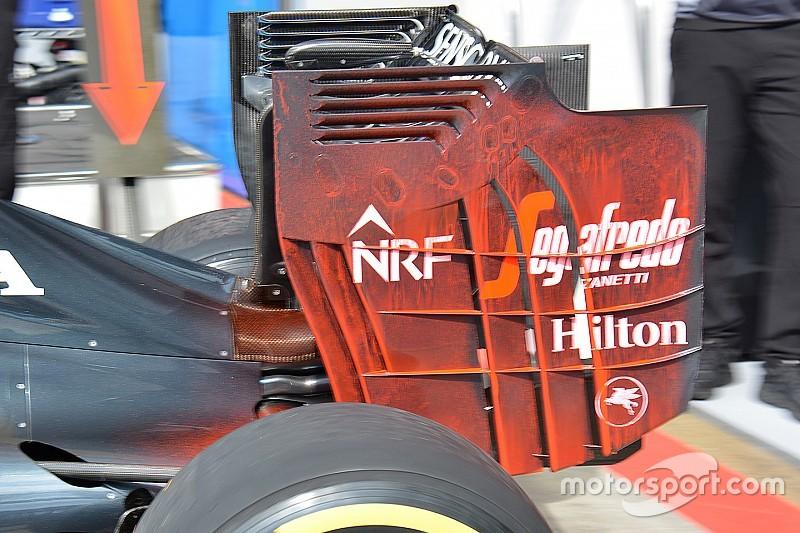 McLaren не будет использовать в Австрии радикальное заднее крыло