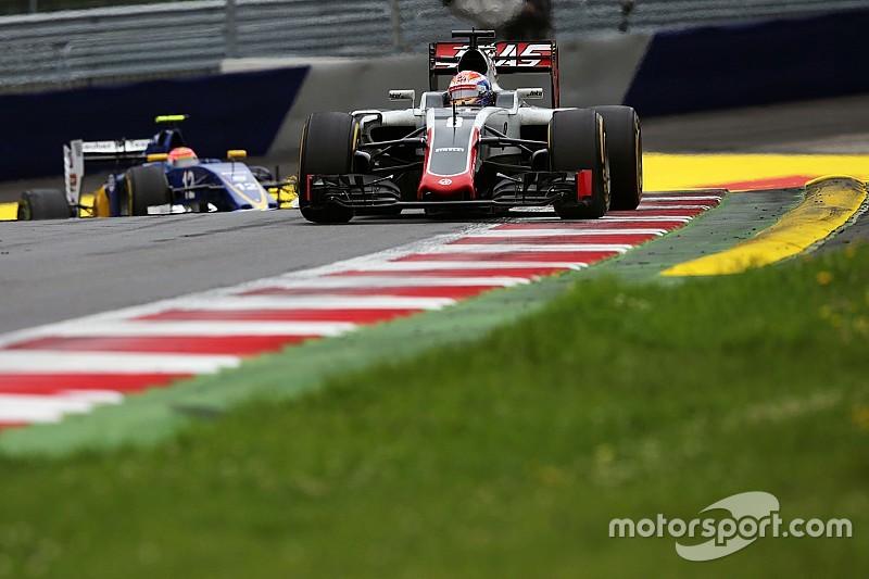 Grosjean terug in de punten na 'redelijk goede' race in Oostenrijk