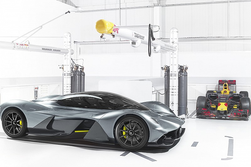 Aston Martin y Red Bull revelan el espectacular hypercar AM-001 RB