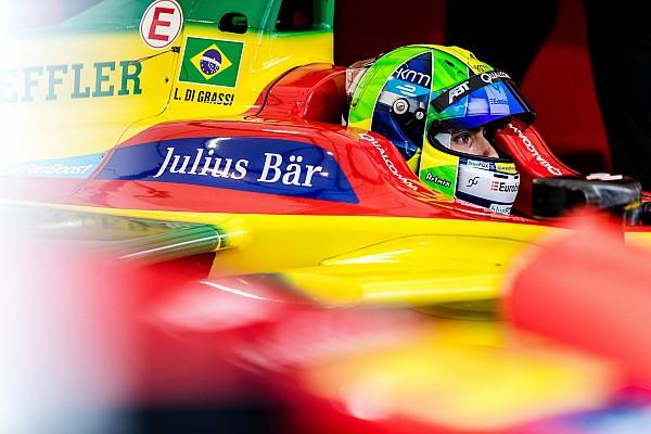 Formule E Di Grassi - Il m'était impossible de bloquer Buemi
