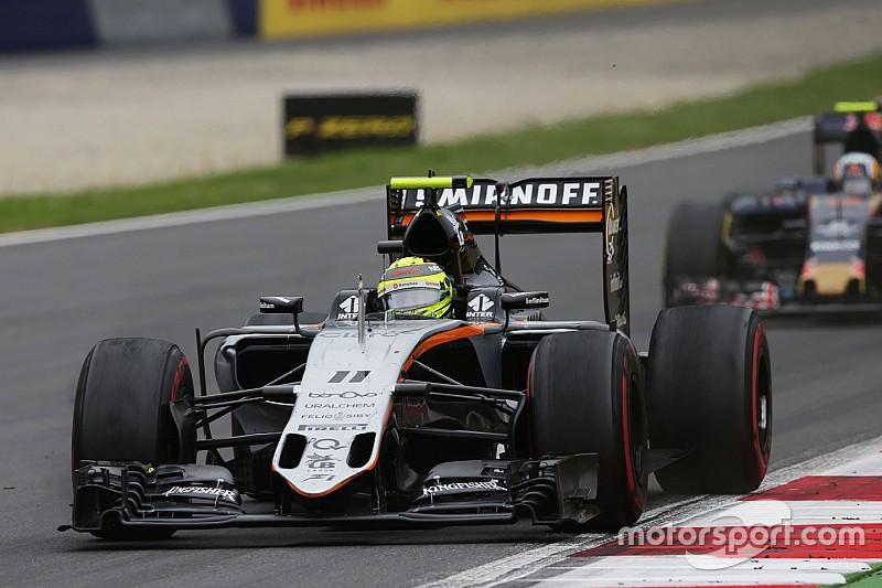 Force India planea experimentos para mejorar la vida de los neumáticos