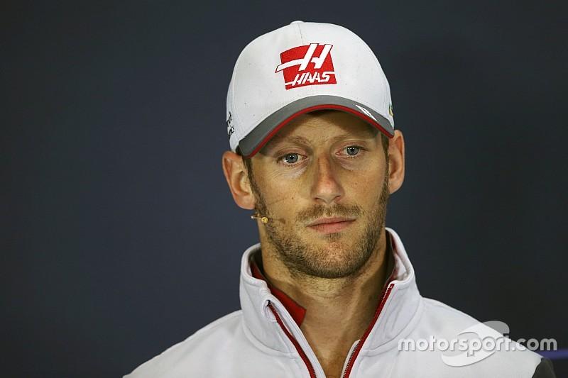 "¿Grosjean y Ferrari en 2018? ""Eso sería genial"", piensa Romain"