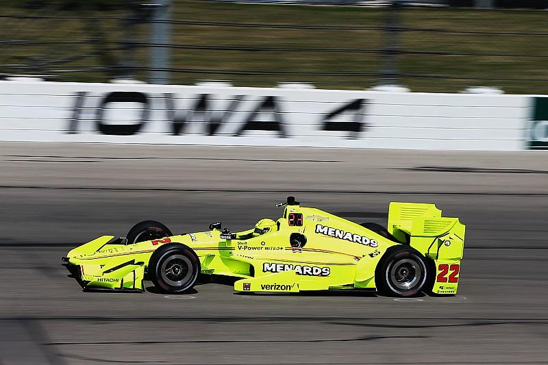 IndyCar in Iowa: Tabellenführer Simon Pagenaud schnappt sich die Pole-Position