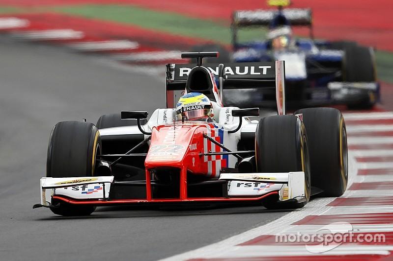 Rowland verovert met MP Motorsport koppositie in GP2-kampioenschap