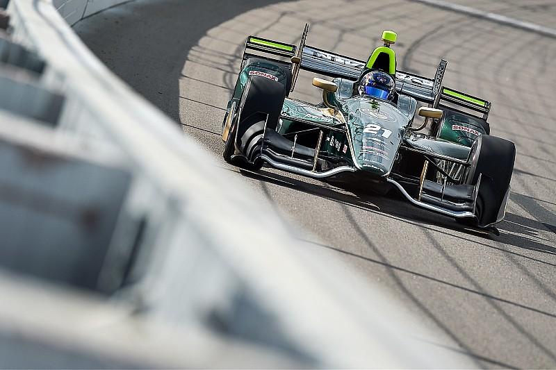 Newgarden compara la carrera en Iowa con un videjuego