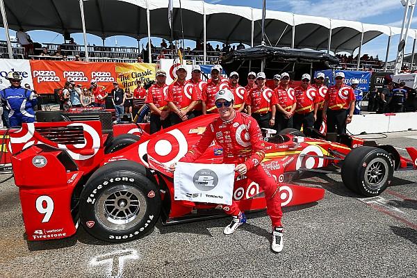 IndyCar Dixon obtiene la pole position en Toronto