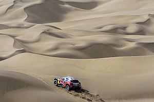 Rallye-Raid Rapport d'étape L'étape 11 annulée en raison d'une tempête de sable