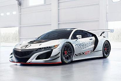 El Acura NSX GT3 debutará en pruebas de PWC
