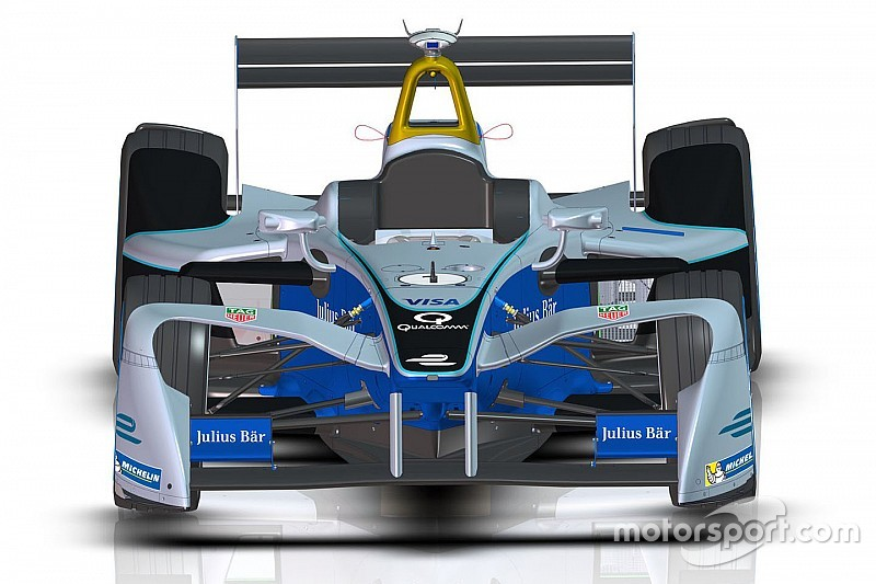 Formule E-bolide krijgt nieuwe look